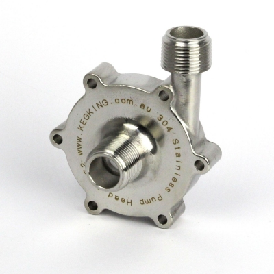 Pump Head - Stainless for MKII Pump