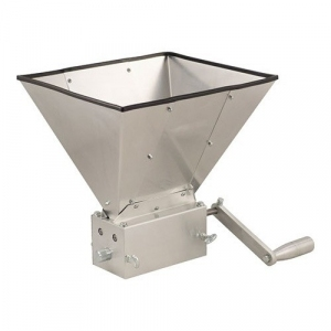 Grain Mill with Hopper - MaltMuncher 3 Roller