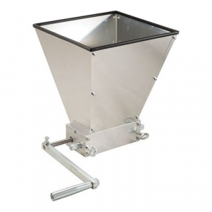Grain Mill with Hopper - MaltMuncher 2 Roller