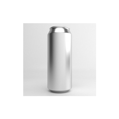 Aluminium Beer Can With Lid - 500ml